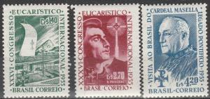 Brazil #825-7 F-VF Unused