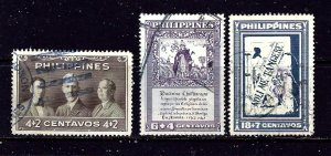Philippines B1-3 Used 1949 set