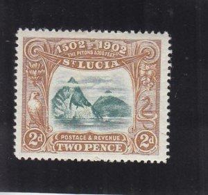 St. Lucia: Sc #49, MH (35823)