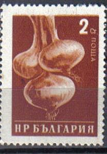 BULGARIA, 1958, used 2s. Onions ?Agricultural Propaganda?.