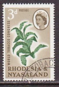 Rhodesia & Nyasaland  #184  used  (1963)