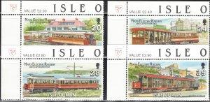Isle of Man #554-7, Set of 4, MNH