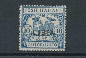 1929 Libya, Delivery Licensed N°2, Serrated 14, Truing Tool Standard