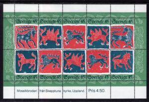 Sweden 1102 Souvenir Sheet MNH VF