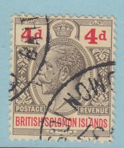 BRITISH SOLOMON ISLANDS 48 NO FAULTS EXTRA FINE