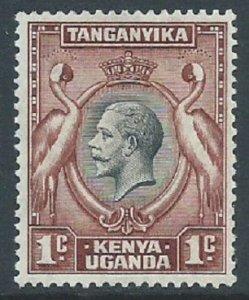 Kenya, Uganda & Tanganyika, Sc #46, 1c MH