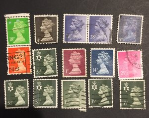 Great Britain stamps GB lot