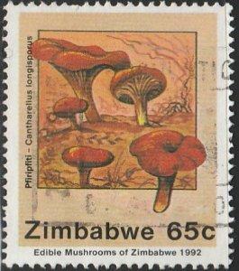 Zimbabwe, #662 Used From 1992
