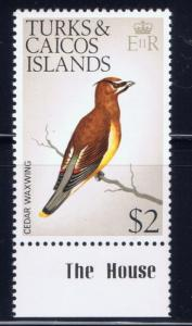 Turks and Caicos 279 NH 1973 Bird single