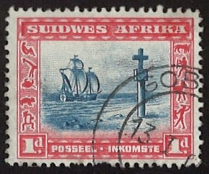Suidwes Africa 1931 Local Motives 1d South West Africa (LL-90)