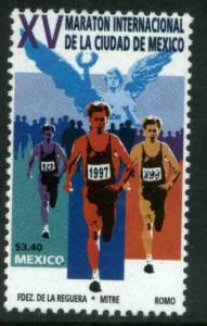 MEXICO 2043, Mexico City 1997 Marathon. MINT, NH. VF.