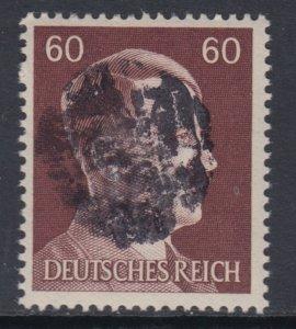 Germany Soviet Zone SBZ - LOCAL DEHLES 60Pf HITLER head - Expertized Valicek