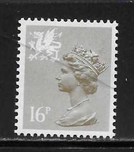 Great Britain Wales WMMH29 16p Machin MNH