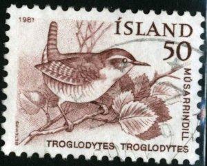 ICELAND #543, USED - 1981 - ICE069AFF6