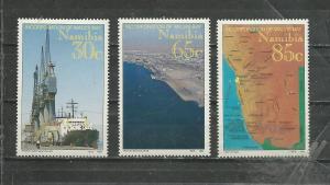 Namibia Scott catalogue #759-761 Unused Hinged