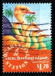 KOKOS COCOS ISLANDS [1996] MiNr 0349 ( O/used ) Tiere