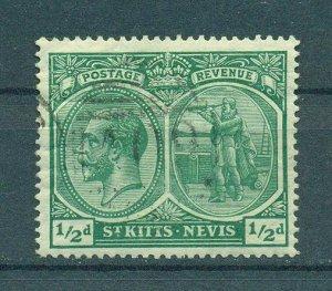St. Kitts & Nevis sc# 24 used cat value $6.00