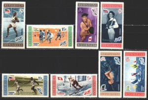 Dominican Republic. 1958. 660A-67A. Olympic sports. MVLH.