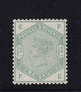 GB Scott # 107 XF unused ( mint regum ) with nice color cv $ 1450 ! see pic !