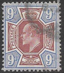 Great Britain 136 Used - Edward VII