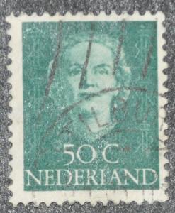 DYNAMITE Stamps: Netherlands Scott #317 – USED