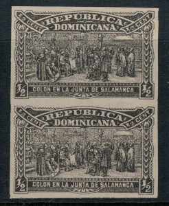 Dominican Republic #110b*  CV $3.75  Imperf pair