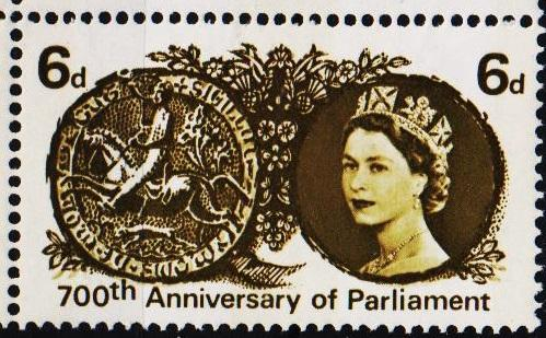 Great Britain.1965 6d(Phos.) S.G.663p Unmounted Mint