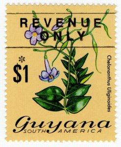 (I.B) British Guiana (Guyana) Revenue : Duty Stamp $1