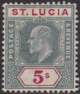 St Lucia 1905 SC 56 Mint