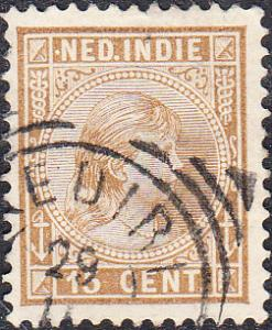 Netherlands Indies #25  Used