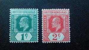 British Honduras King Edward VII MLH