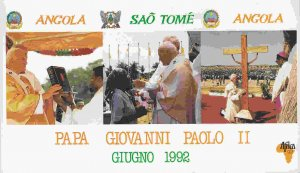 Vatican City - John Paul II Visit to Africa Souvenir Booklet (see description)