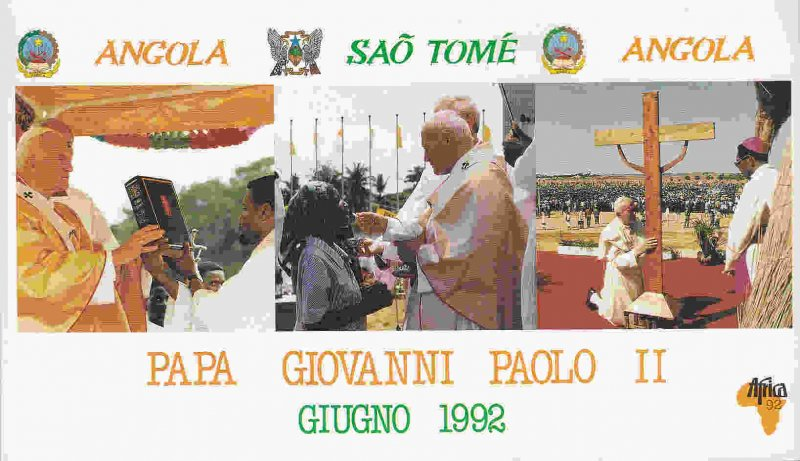 Vatican City - John Paul II Visit to Africa Souvenir Booklet (see description)