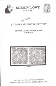 Robson Lowe: Sale # 5230  -  Stamps and Postal History, R...