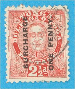 TONGA 34a - PERIOD AFTER POSTAGE - NO FAULTS VERY FINE