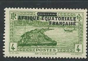 French Equatorial Africa | Scott # 3 - MH