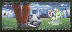 MEXICO 2519, World Cup Soccer Championships Germany. MINT, NH. F-VF.