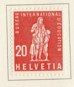 Switzerland Helvetia 1958 Early Issue Fine Mint Hinged 20c. NW-170867