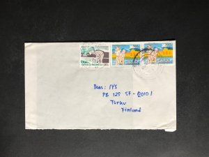 Indonesia #780//B242 Cover to Finland (1970-1999) Cover #2312