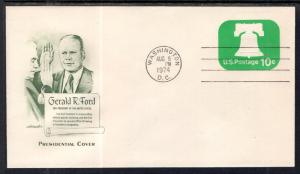 US Gerald Ford Sworn in as President 1974 Artmaster Cover