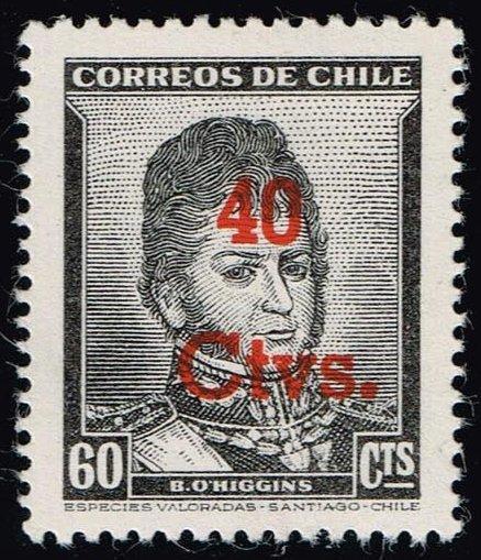 Chile #266 Bernardo O'Higgins; MNH (0.35)