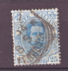 J22524 Jlstamps 1891-6 italy used #70 king
