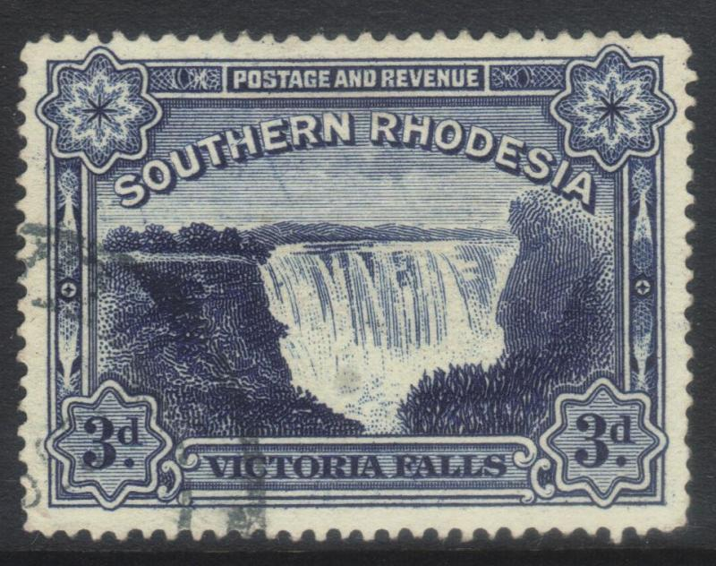 SOUTHERN RHODESIA 1938 VICTORIA FALLS SG35b USED