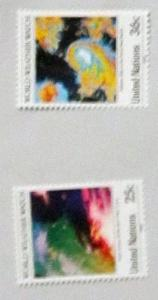 UN, NY - 550-51, MNH Set. Weather Watch. SCV - $1.60