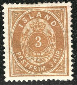 Elusive VF Mint OG hr Iceland #15 SC$82.50 very nice!...Make me an OFFER!
