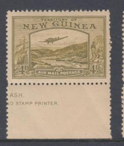 NEW GUINEA C51 MINT NEVER HINGED OG NO FAULTS EXTRA FINE
