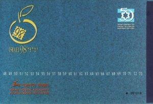 ISRAEL 1998 TEL AVIV STAMPS EXPO 50 JUBILEE PRESTIGE BOOKLET VF