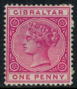 Gibraltar #10*  CV $50.00