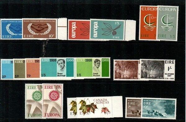 Ireland Scott 202 // 235 Mint NH sets (Catalog Value $80.90)