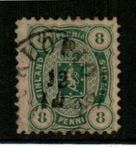 Finland Scott 19 Used (Catalog Value $75.00)